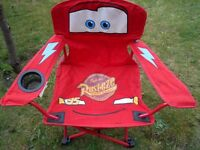 Disneys cars foldable camping chairs