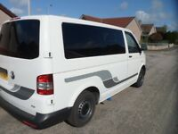 VW T5 TWO BERTH CAMPERVAN BRAND NEW AND UNUSED CONVERSION
