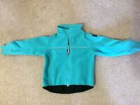 Polarn o Pyret fleece coat - 2 available perfect for twins - turquoise