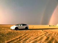 Luxury transportation from A to B in Tesla Model X