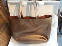 Beautiful ladies real leather handbag tote bag by mdbm uk