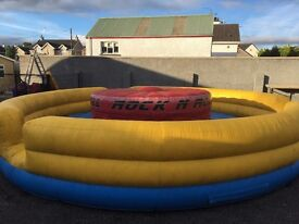Bouncy Castle Rock n Roller Airquee Inflatable