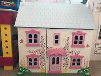 Rose cottage dolls house - Bigjigs