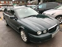 2005/55 JAGUAR X-TYPE 2.0D S ESTATE,GOOD SPEC,LOOKS + DRIVES REALLY WELL,SUPPLIED WITH A NEW MOT