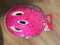 Shopkins bike helmet NEW