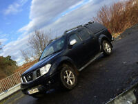 2007 57 Plate Nissan Navara Outlaw Double Cab 2.5Dci