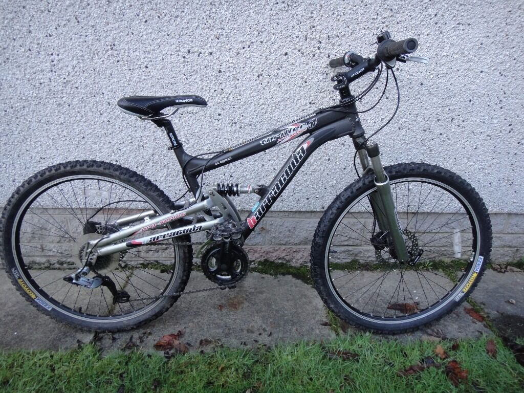 Barracuda Thriller Pro Series Bike Full Suspension 17 5