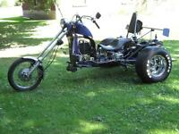 CHOPPER-TRiKE  +(OWNER-SHiP)