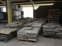 RECLAIMED YORK FLAGSTONE PAVING - VARIOUS SIZES AVAILABLE