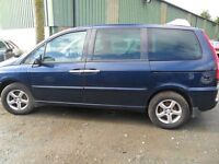 citroen c8 parts from 2 cars diesel and petrol both blue