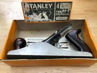 Stanley bench plane.