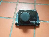 Roland KD-7 kick drum trigger unit (plus beater/pedal)