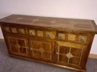 FLAGSTONE MANGO WOOD SIDEBOARD
