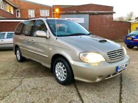 2002 52 Kia Sedona 7 seater! 2.9cdi 5 speed manual REDUCED TO £600!!