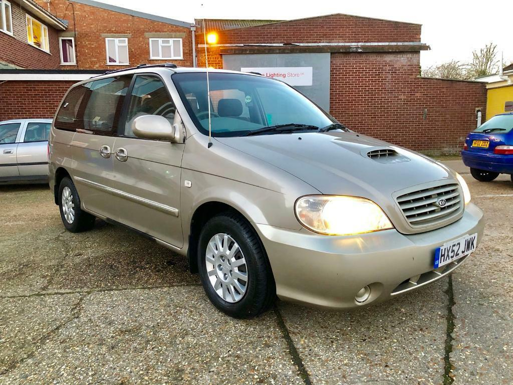 2002 52 Kia Sedona 7 seater! 2.9cdi 5 speed manual REDUCED TO £600