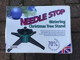 Christmas tree stand (watering)