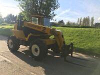Sanderson 7-25 4x4 telehandler/ Forklift, with bucket. Brand new tyres