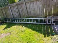 Heavy duty alluminiom ladders