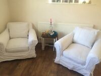 tetrad sofa cream shabby chic four seater sofa two arm chair