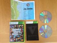 Grand Theft Auto V / 5 - Xbox 360 - Excellent Condition, Discs like new
