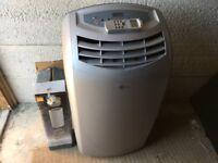 Air Force 12000BTU Portable Air Conditioner/Dehumidifier/Fan/Heater Hose Remote 4in1
