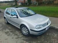 TIDY AUTOMATIC VW GOLF TDI MOT APRIL LOW MILES