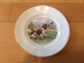 Countryside dog plate