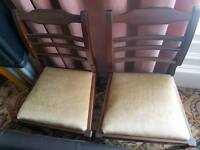 Table and 4 chairs (IN KILWINNING)