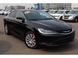 2016 Chrysler 200 LX| Rem Entry| Push Button Start| AC| Cruise C