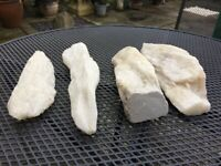 4 x Onyx Pieces for the garden or indoors - Good Condition - £20