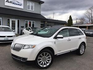 2011 Lincoln MKX Navi + Caméra + Toit + Limited
