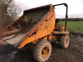 Thwaites vibrax all drive 3 ton dumper