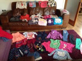 Over 50 piece bundle girls clothes 2-3 excellent condition