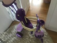 SmarTrike 4-in-1 kids' bike in purple
