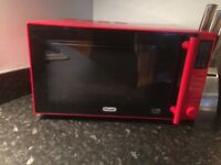 Delonghi microwave,toaster and kettle for sale