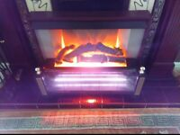 Electric Fire.Coal Effect.2Kw.2 Bar.Lovely Condition.