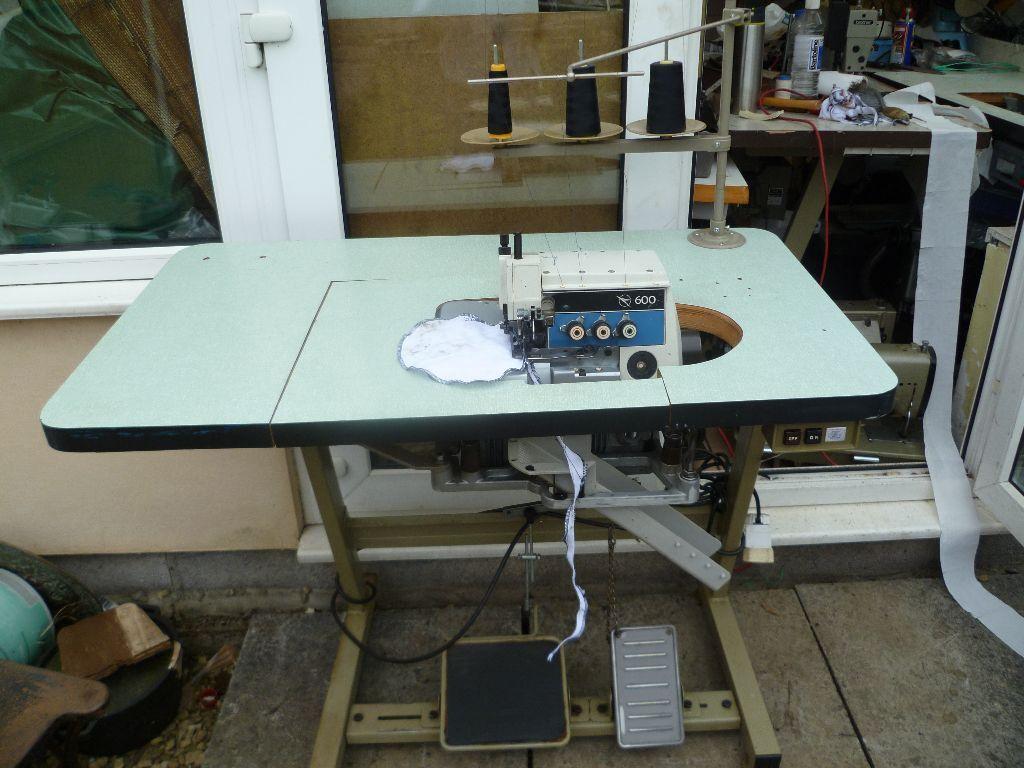 industrial overlocking sewing machine