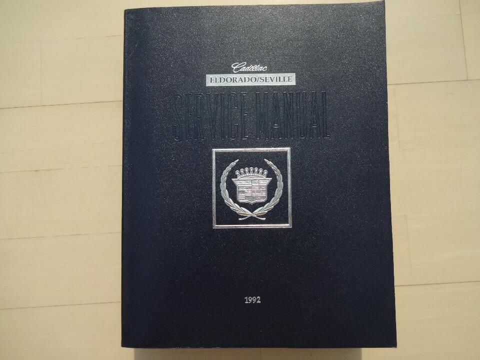 Service Manual, Werkstatthandbuch, Cadillac Eldo/Seville/STS1990 in Dielheim