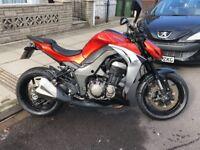 Kawasaki Z1000 - 2014 - 4078 miles - 12 month MOT