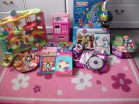 Job lot of Girls Stuff,, books, toys, bedding. Suit CAR BOOT SELLERS