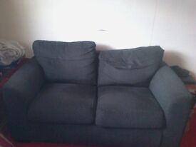 Charcoal Grey 2 Seater Sofa