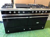 Stunning Lacanche Chalonnais Range cooker double oven Appliance INC VAT black