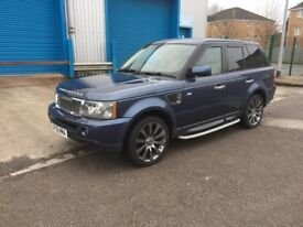 Range Rover sport tdv6 low mileage may px