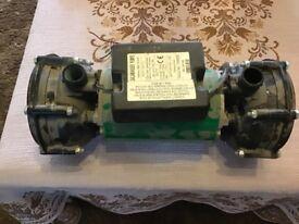 Salamander Shower pump, Twin Impeller