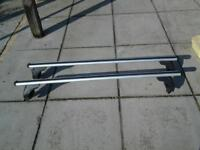 roof bars for nissan qashqai with no railings
