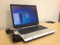 Toshiba a100 laptop - Windows 7, wifi, office