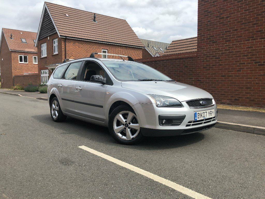 2007 07 ford focus 1 6 zetec estate only 1 owner from new petrol manual