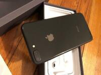 APPLE IPHONE 8 plus Black color 64gb like new warranty & accessories