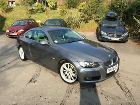 "BMW 330d e92 Coupe, Full elather, 18"" Msport alloys"