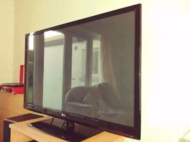 50 inch LG Plasma Full HD 1080p TV not LCD LED Samsung Sony Panasonic
